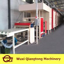 Duas etapas de resina de melamina Linha de impregnação / linha de impregnação de papel inferior de 6 pés