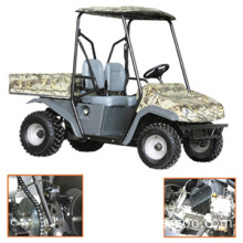 Utility Vehicle with Back Deck