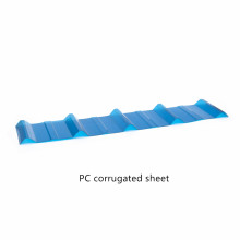 Cartón corrugado de policarbonato de tamaño personalizado
