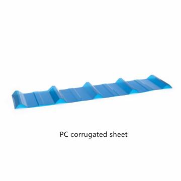 Гофрированные листы поликарбоната нестандартных размеров