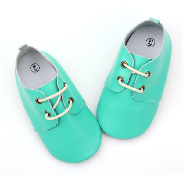 Fancy Oxfords Wholesale Soft Sole Baby Leather Shoes