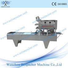 Máquina automática de llenado y sellado de cápsulas de café tipo lineal