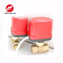 AC220V AC24V brass CWX-50k quickly install valve low price electric valve instead of solenoid valve