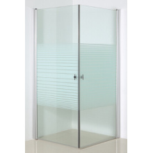 Line Glass Shower Enclosure with Pivot Door (SE-209 Line glass)