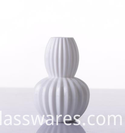 Blown Decorative Colored Glass Vase