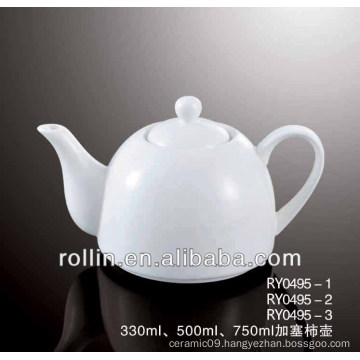 2014 dishwasher safe chinese style ceramic tea pot for hotel and restaurant