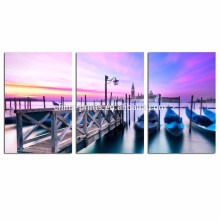 Venice Canvas Wall Art/Sunset Landscape Canvas Print/Cityscape Large Wall Art