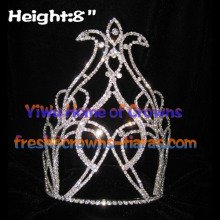 8inch Crystal Pageant Crowns---4th Of July