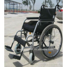 New Design Aluminum Wheelchair BME4635-002 Oval-shaped Pipe Most Popular Light Grey Color