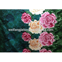 3D /5D design polyester bedsheet fabric