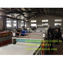 Línea de extrusión de láminas de PVC Maquinaria plástica