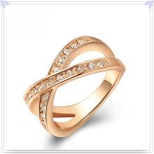 Fashion Accessories Crystal Jewelry Alloy Ring (AL0031RG)
