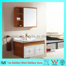 Hot Sale Europe Style Aluminum Bathroom Cabinet with Mirror
