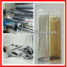 Protective metallized PET film