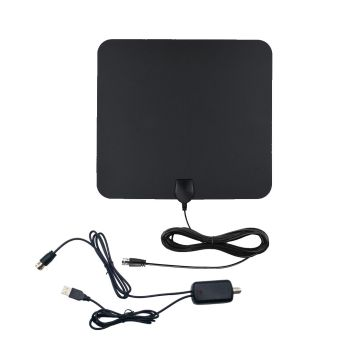 Thin Falt 1080P antena HDTV digital para interiores