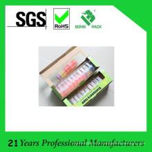 Escola de fita de papelaria colorida usada com dispensador