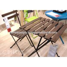 Ensemble de jardin Bistro: 1 table, 2 chaises