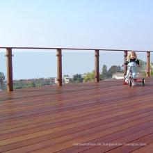 Fabrik Direkt Natürliche Farbe Hartholz Outdoor IPE Bodenbelag