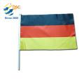 hot sale custom printing Germany hand flag
