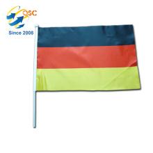 impression personnalisée de vente chaude drapeau de la main de l'Allemagne