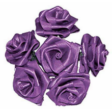 6mm satin silk ribbon bow for gift