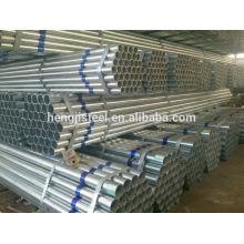 ASTM A53 Tubulação galvanizada quente do andaime