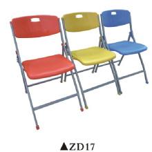 Chaise pliée en plastique de haute qualité de pp