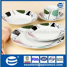 New Bone China luxury tableware set
