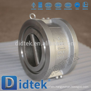 Dual Plate Wafer Natural Gas Check Valve
