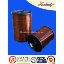 180 Grade poliéster-Imide alumínio esmaltado fio de enrolamento