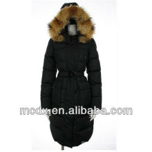 latest design womens fitted down jacket