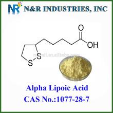 Polvo alfa ácido lipoico CAS: 1077-28-7