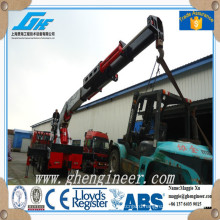 50T factory truck mounted hydraulic crane