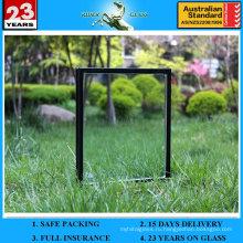 6 + 12A + 6мм Низкотемпературное оконное стекло с закаленным полым покрытием для окна