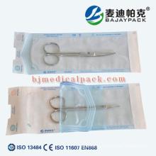 Schönheits-Sterilisation Autoklavdesinfektionsselbstdichtungsbeutel