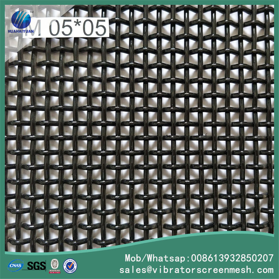 Woven Wire Vibrating Screen Mesh