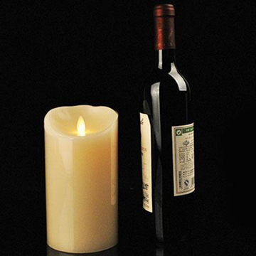 moving vick led candle