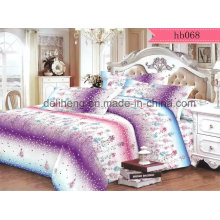 Floral Cashmere Microfiber Polyester Reactive Printed Bed Sheet Fabric