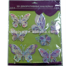 3D butterfly sticker for wall