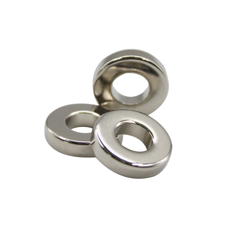 Ni Coated Ring Magnet 9