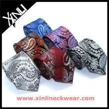 Cravate en polyester tissé microfibre