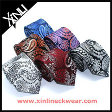 Microfiber Woven Polyester Tie