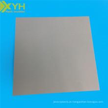 Placa do cloreto do Polyvinyl da folha do PVC do plástico da engenharia