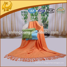 """50 """"* 60"""" Grande taille Pure Shawl Bamboo Throw Blanket With Fringe"""