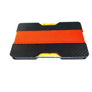 Carbon fiber money and card holder