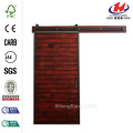 Mountain Modern Barn Red Wood Barn Door