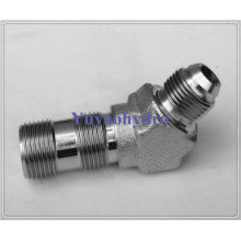 Stainless Steel Hydraulic Fitting Male 45 Deg Connector