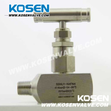 Needle Valve (Male and Female Ends)