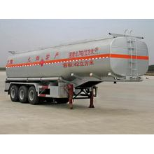 11m Tri-axle Flammable Liquid Tank نصف مقطورة