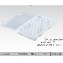 Novo modelo de caixa de equipamento de pesca de isca de plástico
